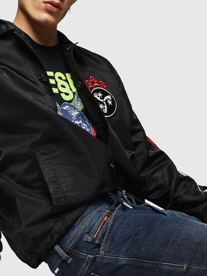 Diesel - Thommer 084AU, Blu Scuro - Jeans - Image 3