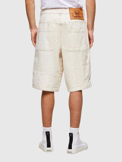Diesel - D-FRANS-SP1, Bianco - Shorts - Image 2