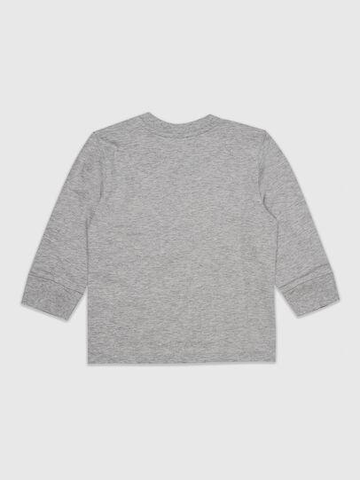 Diesel - TDOSKYB ML, Grigio - T-shirts e Tops - Image 2