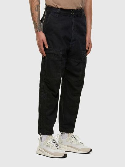 Diesel - D-Luks 009IB, Blu Scuro - Jeans - Image 5