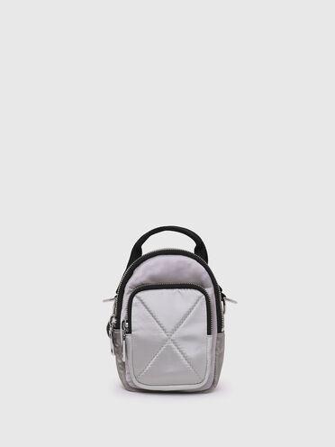 Mini borsa a tracolla convertibile in nylon