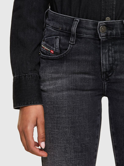 Diesel - D-Ebbey 009PW, Nero/Grigio scuro - Jeans - Image 3
