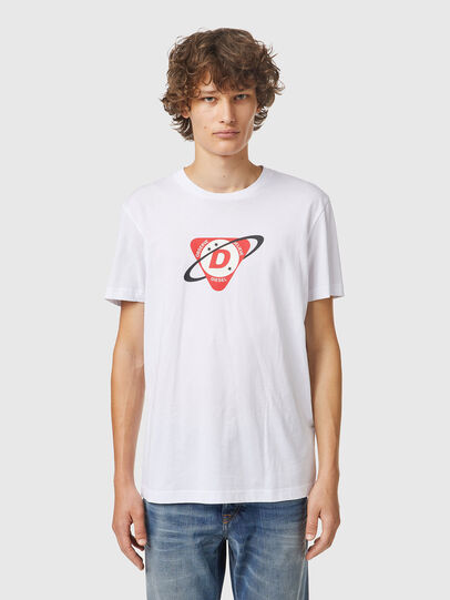 Diesel - T-DIEGOS-K24, Bianco - T-Shirts - Image 1