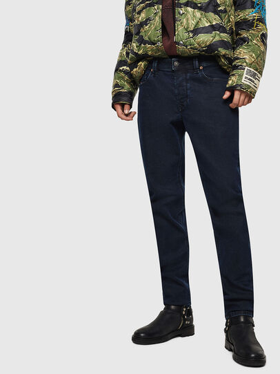 Diesel - Larkee-Beex 084LC, Blu Scuro - Jeans - Image 1