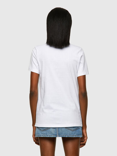 Diesel - T-SILY-ECOLOGO, Bianco - T-Shirts - Image 2