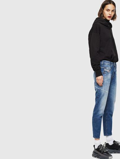 Diesel - Fayza 0097B, Blu medio - Jeans - Image 5