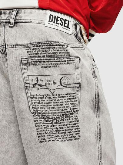 Diesel - D-WILLOH, Grigio Chiaro - Shorts - Image 3