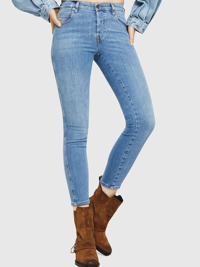 Diesel - Babhila 086AK, Blu Chiaro - Jeans - Image 1