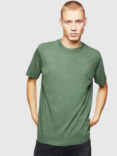 Diesel - T-THURE, Verde - T-Shirts - Image 1