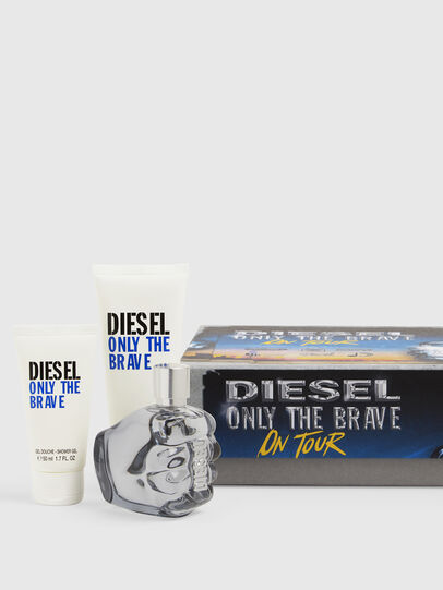 Diesel - ONLY THE BRAVE 75 ML GIFT SET, Azzurro - Only The Brave - Image 1