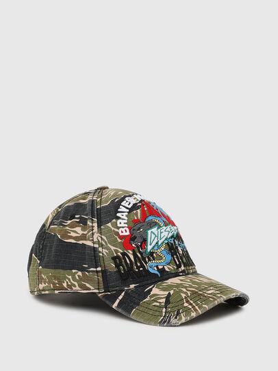 Diesel - C-RIPCA, Verde Militare - Cappelli - Image 1