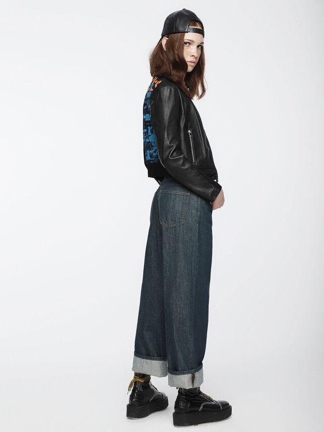 Diesel - Widee 084UR, Blu Scuro - Jeans - Image 4