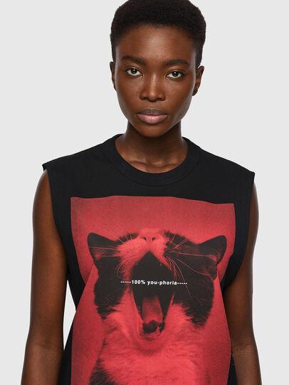Diesel - T-PUNKYERN, Nero - T-Shirts - Image 3