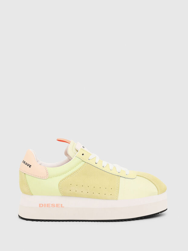 S-PYAVE WEDGE, Giallo - Sneakers