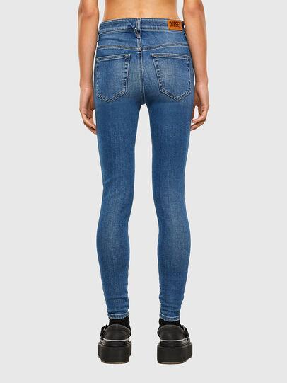 Diesel - Slandy High 009AG, Blu medio - Jeans - Image 2