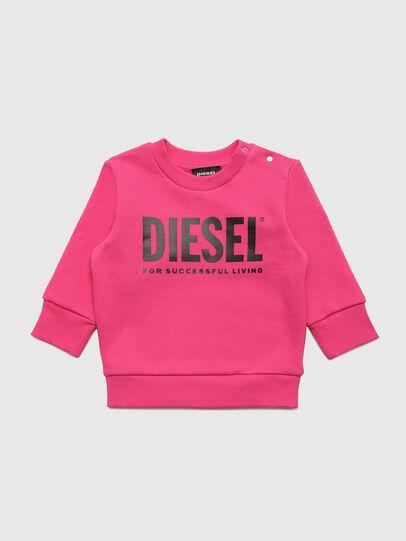 Diesel - SCREWDIVISION-LOGOB, Rosa - Felpe - Image 1