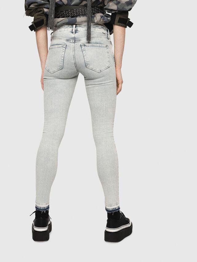Diesel - Slandy 086AF, Blu Chiaro - Jeans - Image 2