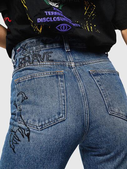 Diesel - D-Eiselle 0078T, Blu Chiaro - Jeans - Image 6
