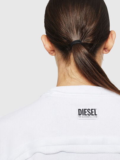 Diesel - F-LYANY-H, Bianco - Felpe - Image 3