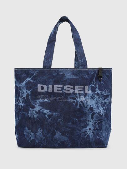Diesel - D-THISBAG SHOP M, Blu - Shopper e Borse a Spalla - Image 1