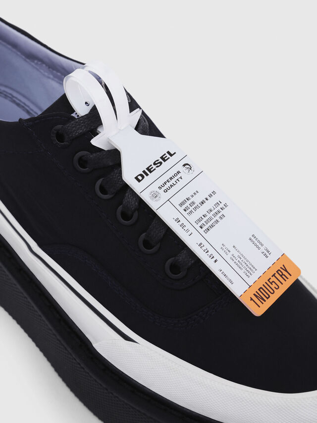 Diesel - H-SCIROCCO LOW, Nero - Sneakers - Image 4