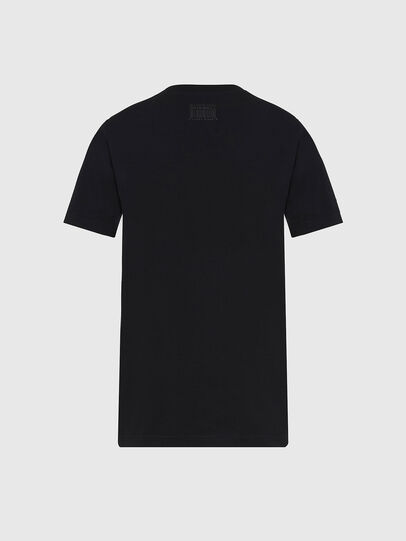 Diesel - T-SILY-E56, Nero - T-Shirts - Image 2