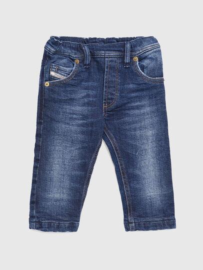 Diesel - KROOLEY-B-N F JOGGJEANS, Blu medio - Jeans - Image 1