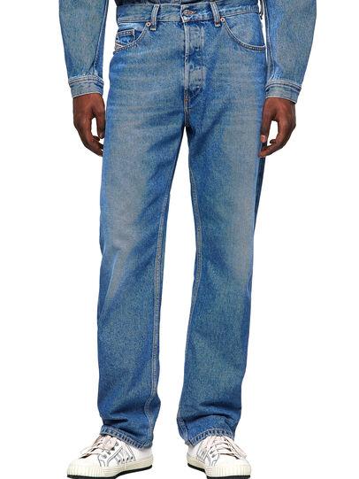 Diesel - D-Macs 009MG, Blu medio - Jeans - Image 1