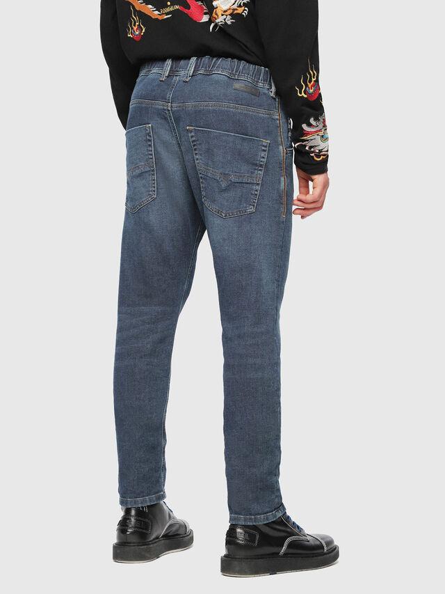 Diesel - Krooley JoggJeans 084UB, Blu Scuro - Jeans - Image 2