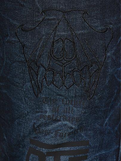 Diesel - D-REEFT JoggJeans® 069RB, Blu Scuro - Jeans - Image 4