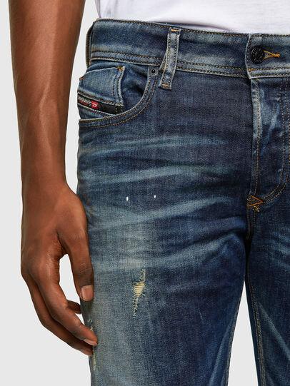 Diesel - Sleenker 0097L, Blu Scuro - Jeans - Image 3