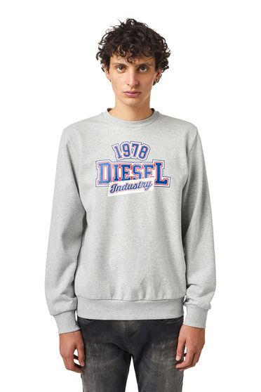 Felpa con stampa Diesel Industry