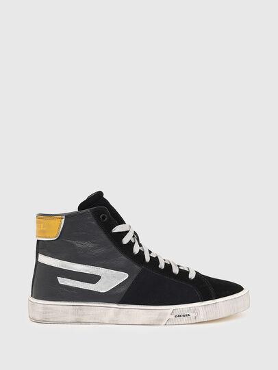 Diesel - S-MYDORI ML, Nero/Giallo - Sneakers - Image 1