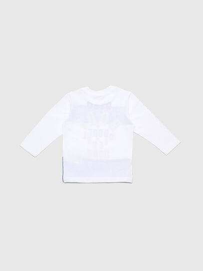 Diesel - TOLIB-R, Bianco/Blu - T-shirts e Tops - Image 2