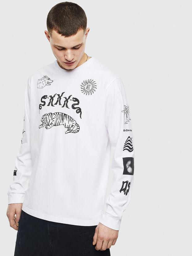 T-JUSTLY, Bianco - T-Shirts