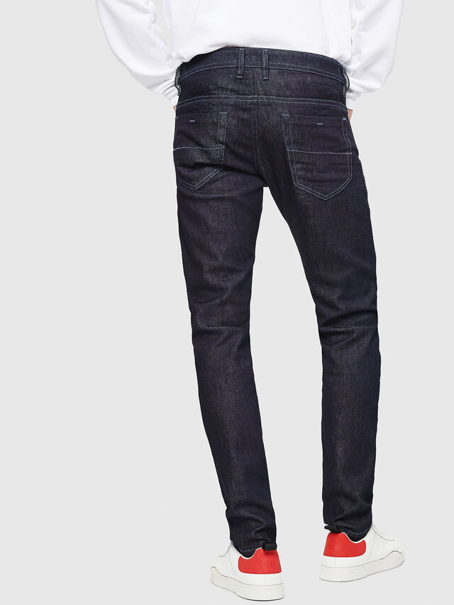 Diesel - Thommer 084HN, Blu Scuro - Jeans - Image 2