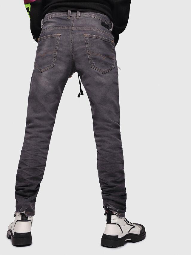 Diesel - Thommer JoggJeans 069EM, Nero/Grigio scuro - Jeans - Image 2
