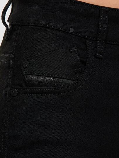 Diesel - Slandy High 069EF, Nero/Grigio scuro - Jeans - Image 3