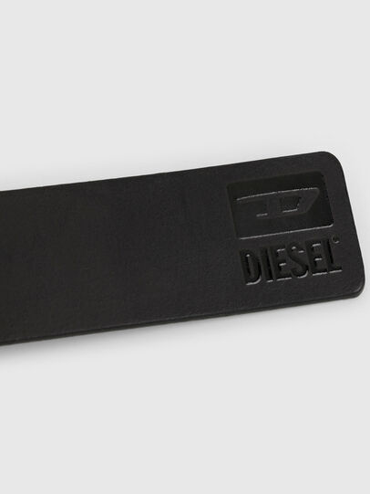 Diesel - B-DIVISION, Nero Brillante - Cinture - Image 4