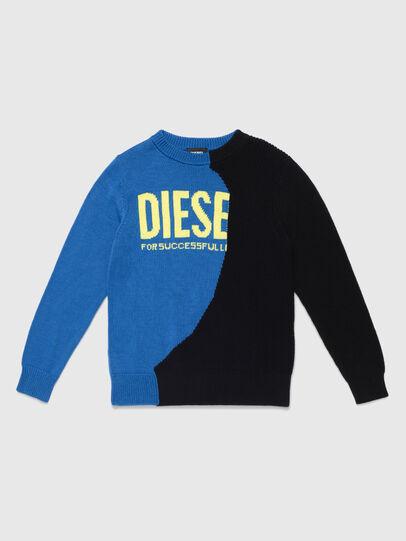 Diesel - KHALF, Blu/Nero - Maglieria - Image 1
