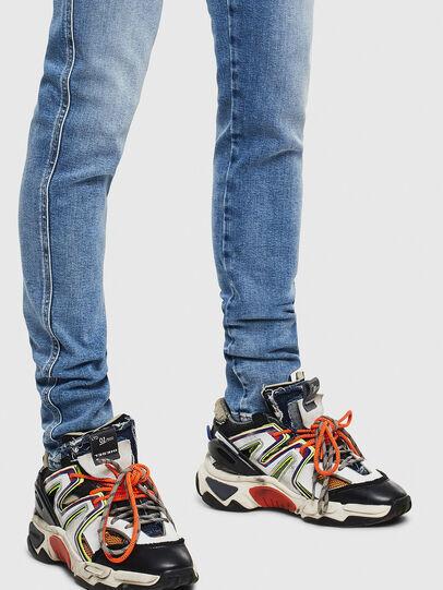 Diesel - D-Istort 009BG, Blu medio - Jeans - Image 5