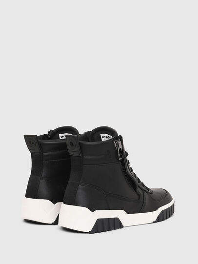 Diesel - S-RUA MID W, Nero - Sneakers - Image 3