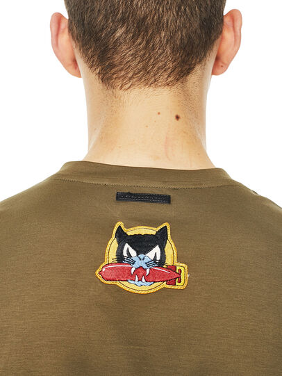 Diesel - TY-PATCHES,  - T-Shirts - Image 4