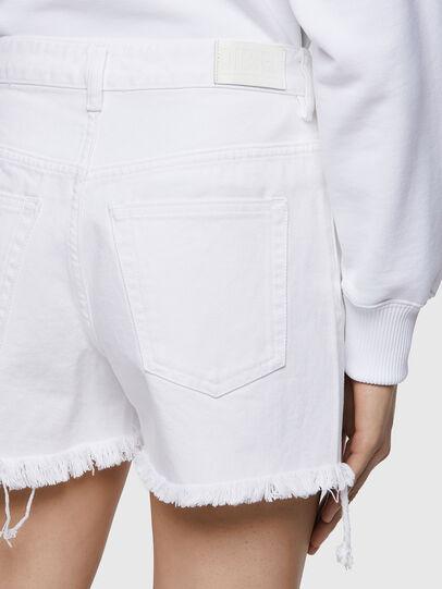 Diesel - DE-REG-R, Bianco - Shorts - Image 4