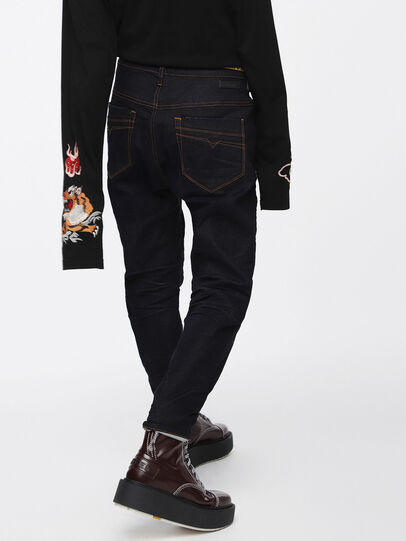 Diesel - Fayza JoggJeans 069BA, Blu Scuro - Jeans - Image 2
