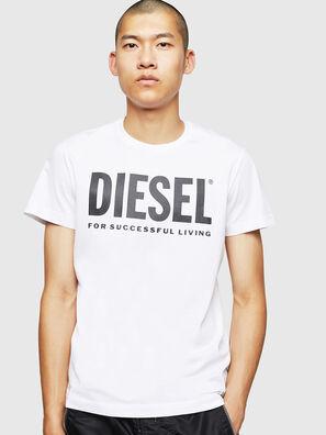 T-DIEGO-LOGO, Bianco - T-Shirts