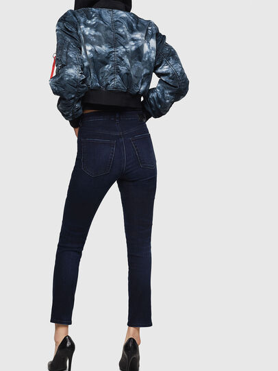 Diesel - Babhila High 083AG, Blu Scuro - Jeans - Image 2