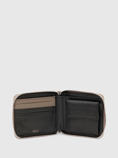 Diesel - HIRESH XS ZIPPI, Beige - Portafogli Con Zip - Image 3