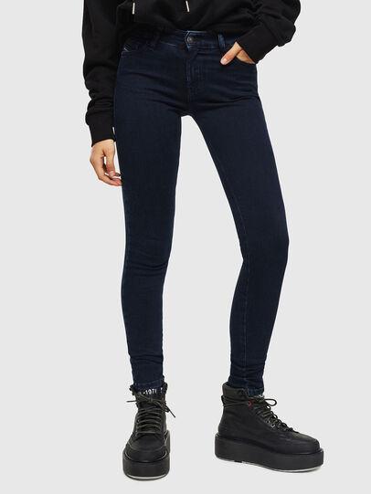 Diesel - Slandy 0094Y, Blu Scuro - Jeans - Image 1