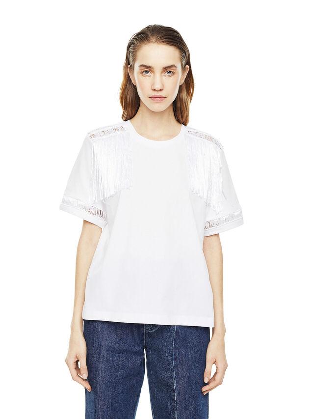 Diesel - TREENA, Bianco - T-Shirts - Image 1